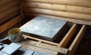 Как сделать фундамент под печь в деревянном доме своими руками?