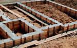Как приготовить бетон для фундамента пропорции в ведрах цемент 500?