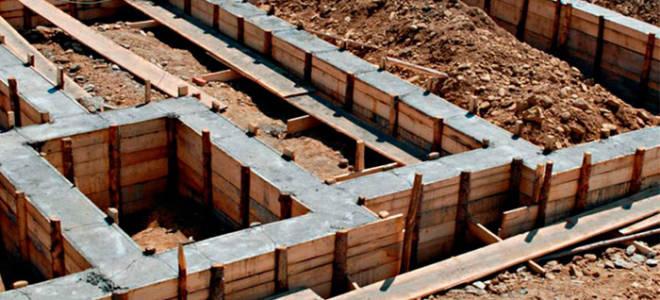Состав бетона для фундамента пропорции таблица на 1 м3