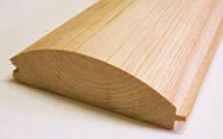 Размеры деревянного блокхауса