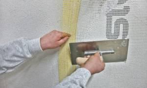 Клей для фасадной сетки на пенопласт