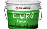 Достоинства и недостатки фасадной краски Тиккурила
