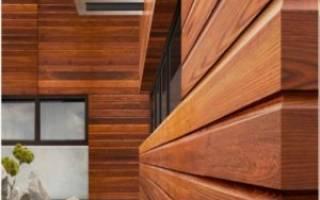 Отделка планкеном фасадов деревянных частных домов