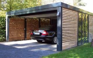 На каком расстоянии от забора можно строить дом и гараж
