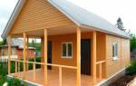 Дачные домики каркасного типа от фундамента до крыши своими руками