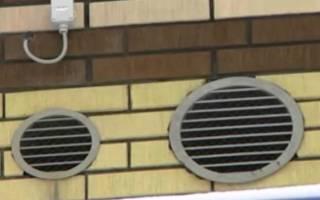 Схемы естественной вентиляции в частном доме с ленточным фундаментом