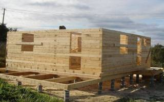 Ленточный фундамент для дома из бруса своими руками пошаговая инструкция