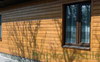 Как правильно обшить деревянный дом профлистом с утеплителем?