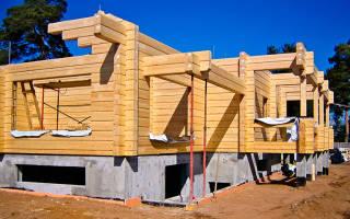 Какой фундамент выбрать для дома из бруса на глинистой почве?