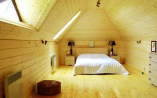 Почему стоит выбрать имитацию бруса для отделки дачного дома изнутри