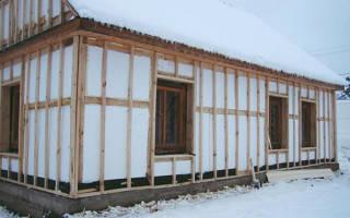 Утепление деревянного дома снаружи пенопластом с пароизоляцией