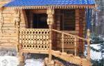 Сделать крыльцо с навесом в частном доме из дерева