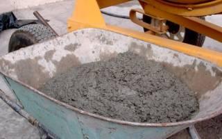 Соотношение песка и цемента в растворе для фундамента в ведрах