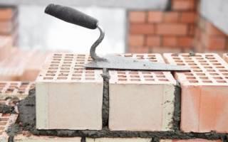 Кладка стен от фундамента из силикатного кирпича в 1 кирпич