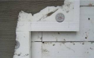 Утепление стен фасада дома пенопластом и отделка штукатурка фасада