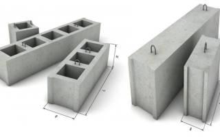 Фундамент из блоков фбс минусы и плюсы и минусы