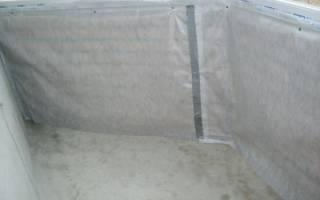 При утеплении лоджии пароизоляция укладывается до или после утеплителя