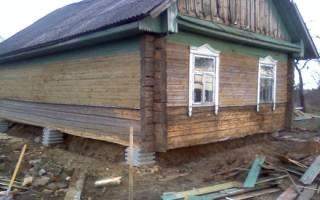 Как залить фундамент под старый деревянный дом своими руками?