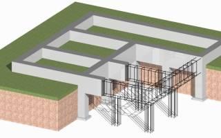 При строительстве дома фирма использует один из типов фундамента 3