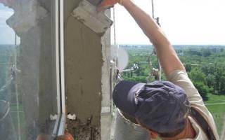 Отделка внешних откосов пластиковых окон в кирпичном доме