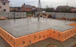 Сколько нужно кубов бетона на монолитный фундамент 10 на 10