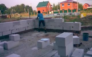 Строительство дома из пеноблоков от фундамента до крыши своими руками