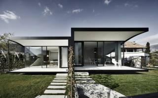 Проекты современных домов и коттеджей в стиле модерн