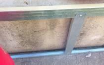 Как обшить завалинку профлистом в деревянном доме?