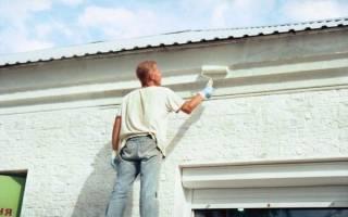 Фасадная краска по кирпичу для наружных работ расход