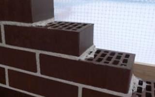 Состав кладочного раствора для облицовочного кирпича и его пропорции