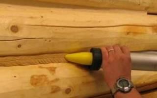 Герметик для швов в деревянном доме какой лучше