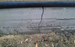 Просел фундамент поднять и усилить фундамент трещины в доме