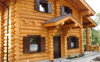 Какой глубины должен быть фундамент для двухэтажного дома из бревна?