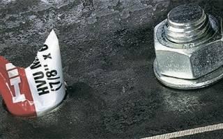 Разновидности химических анкеров HILTI для бетона