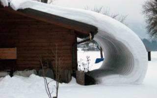 Разновидности снегозадержателей