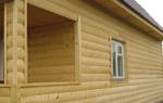 Сайдинг или блок хаус для отделки деревянного дома