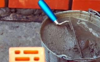 Сколько надо цемента и песка на куб раствора для фундамента