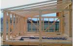 Пристрой летней веранды с односкатной крышей на столбчатом фундаменте