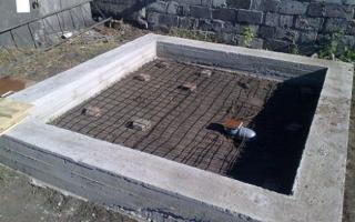 Какой толщины должен быть фундамент из блоков для двухэтажного дома?