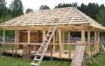 Как сделать четырехскатную крышу для беседки своими руками?