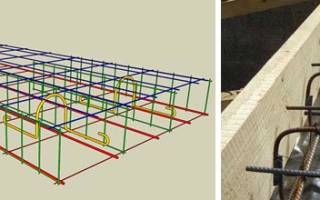 Технология вязки арматуры для монолитной плиты