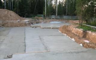 Снип на бетонную подготовку под фундамент нормы и правила подбетонки