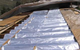 Крыши и кровли теплоизоляция гидроизоляция и пароизоляция скатных крыш