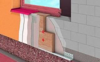 Утепление дома из газобетона снаружи минватой под штукатурку