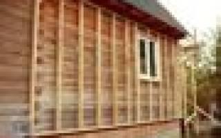 Надо ли утеплять дом из бруса профилированного бруса