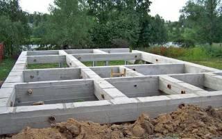 Можно ли делать свайный фундамент под дом из пеноблоков?