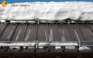 Системы снегозадержания что это и зачем они нужны