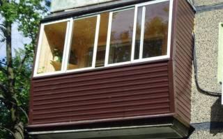 Обрешетка балкона под сайдинг своими руками в хрущевке
