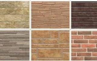 Фасадные панели с каменной крошкой для наружной отделки дома