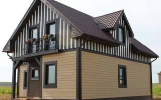 Варианты отделки фасада сайдингом частного дома